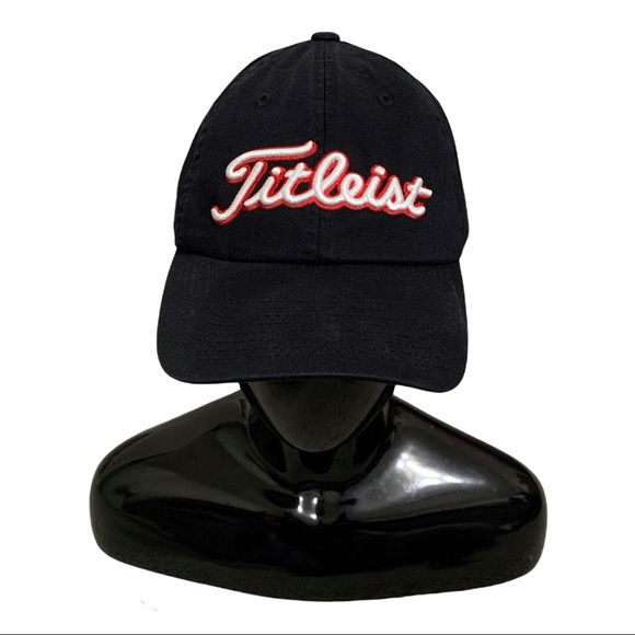TITLEIST 905 fitted hat Black/red L/XL